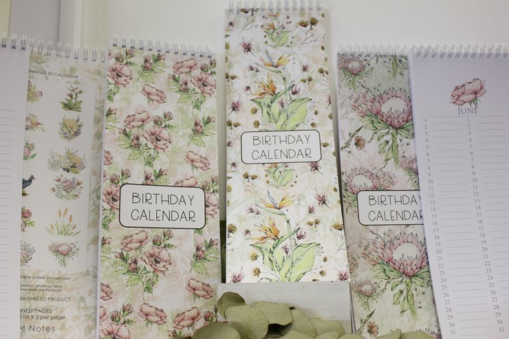 Long birthday calendars by Timeless Memories
