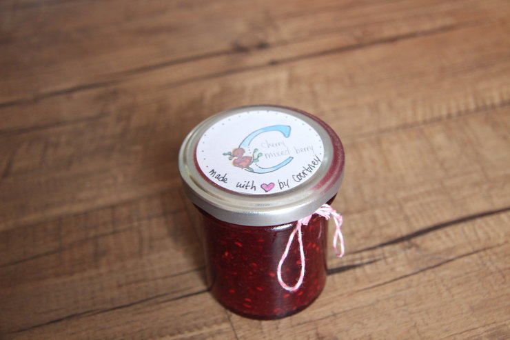Assorted Jams (120ml) by Made with Love by Courtney