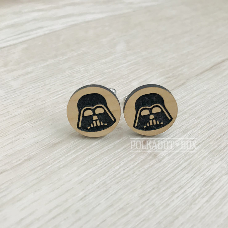 Star Wars Darth Vader Cufflinks   by Polkadot Box