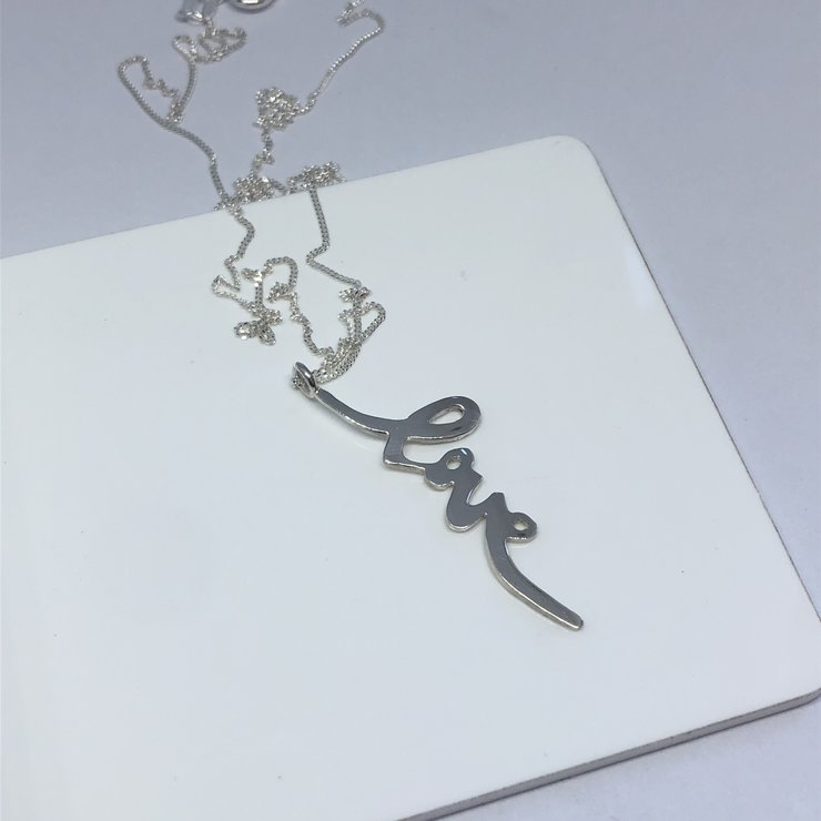Love Necklace by GK Jewellery