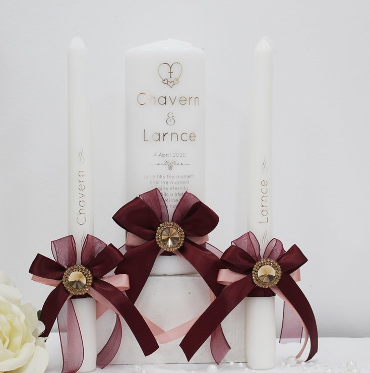 Bella candle votive set   by Timeless Memories