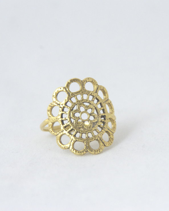 Doilie ring by Belinda Jewellery Designs