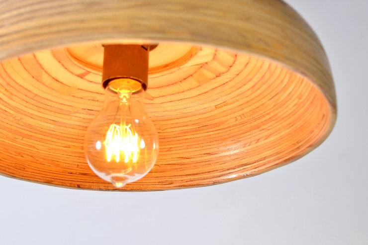 Wide Pendant Lamp by Modern Gesture