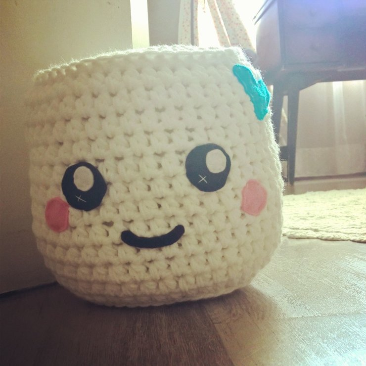 Marshmallow Plushy by Love Wool