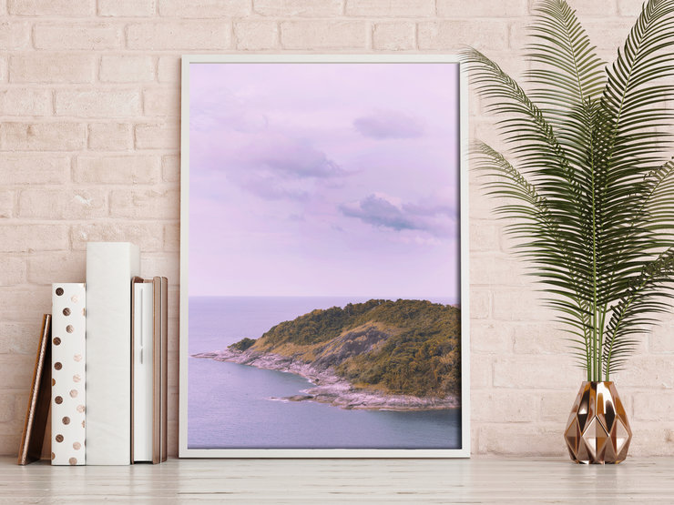 Printable Wall Art - Ocean view by Grace On Paper