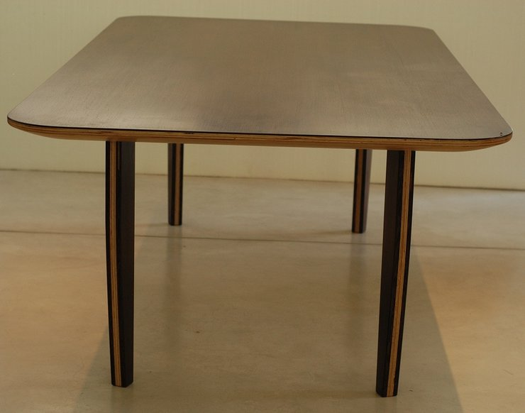 wenge dining table by joint fabrication and design. Black Bedroom Furniture Sets. Home Design Ideas