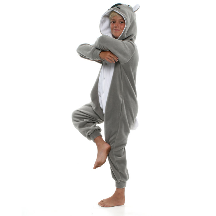 Image of: Grey Koala Kids Animal Onesie Koala Bear jumpsuit Cosplay Costume Kigurumi By Animal Onesies Kids Animal Onesie Koala Bear jumpsuit Cosplay Costume