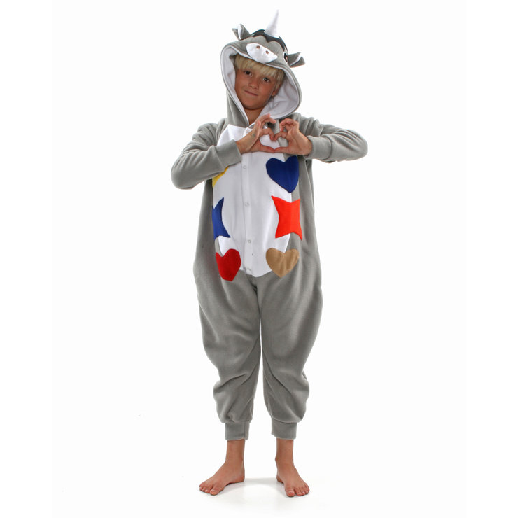 4086e09e9c2 Kids Animal Onesie - Unicorn (Jumpsuit