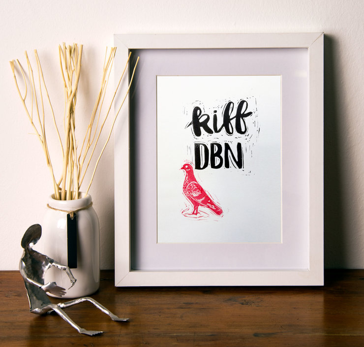 Kiff DBN Pigeon Print by Show up