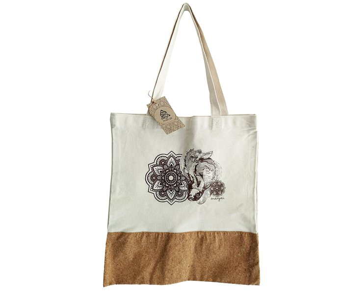 Koi Tote Bag by Manjai