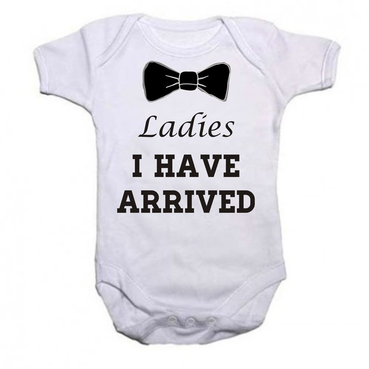 Ladies I Have Arrived Baby Grow By Qtees Africa Pty Ltd