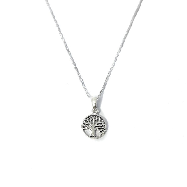 925 Sterling Silver Tree of Life Necklace by Lakota Inspirations