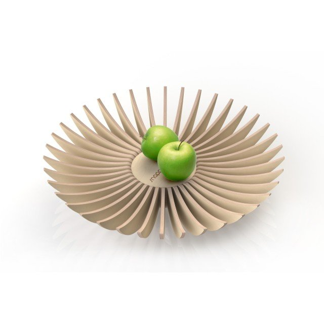 'lamellae' fruit bowl by snapp
