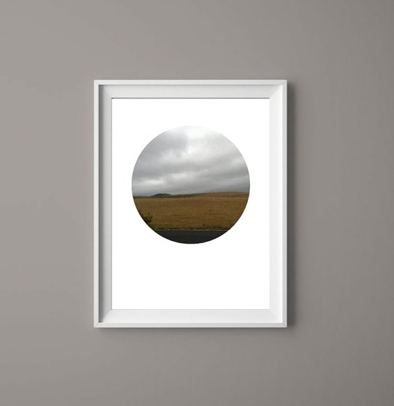 Landscape Clouds I - Printable Art ( Print Yourself ) by  ImPrintable | Art