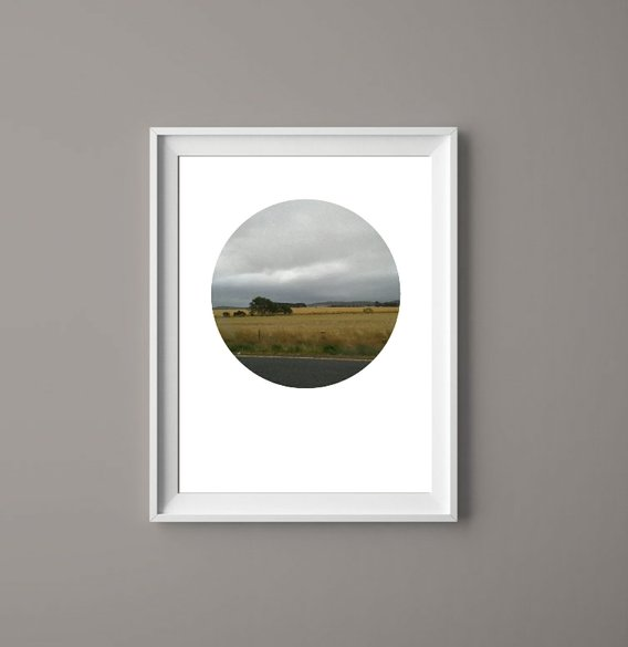 Landscape Clouds II - Printable Art  by  ImPrintable | Art