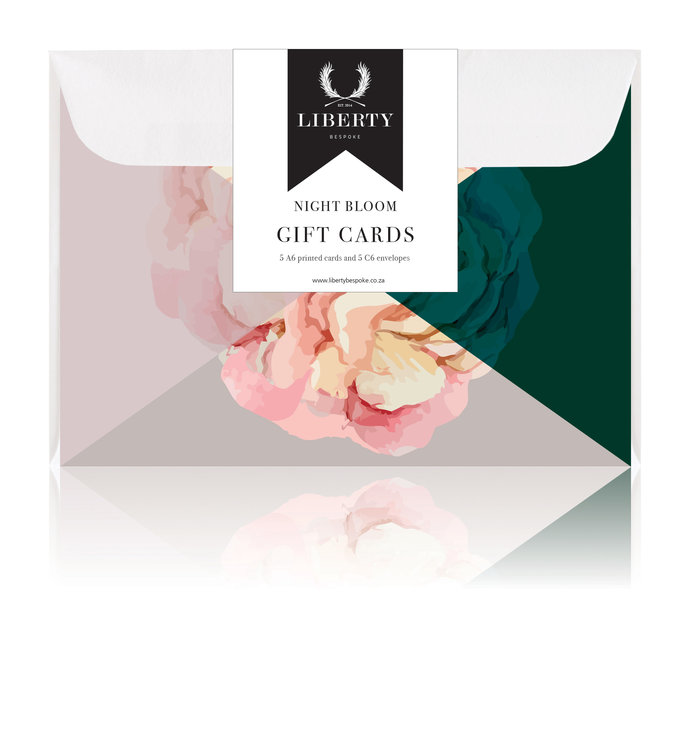 Night Bloom Gift Cards 02 by Liberty Bespoke