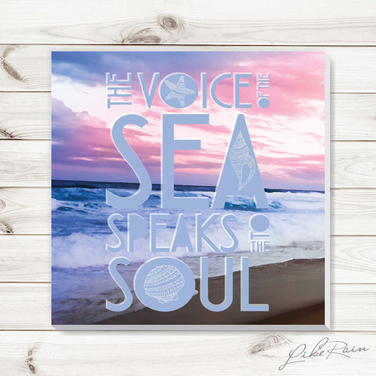 The Voice of the Sea - Canvas Print by Like Rain Productions
