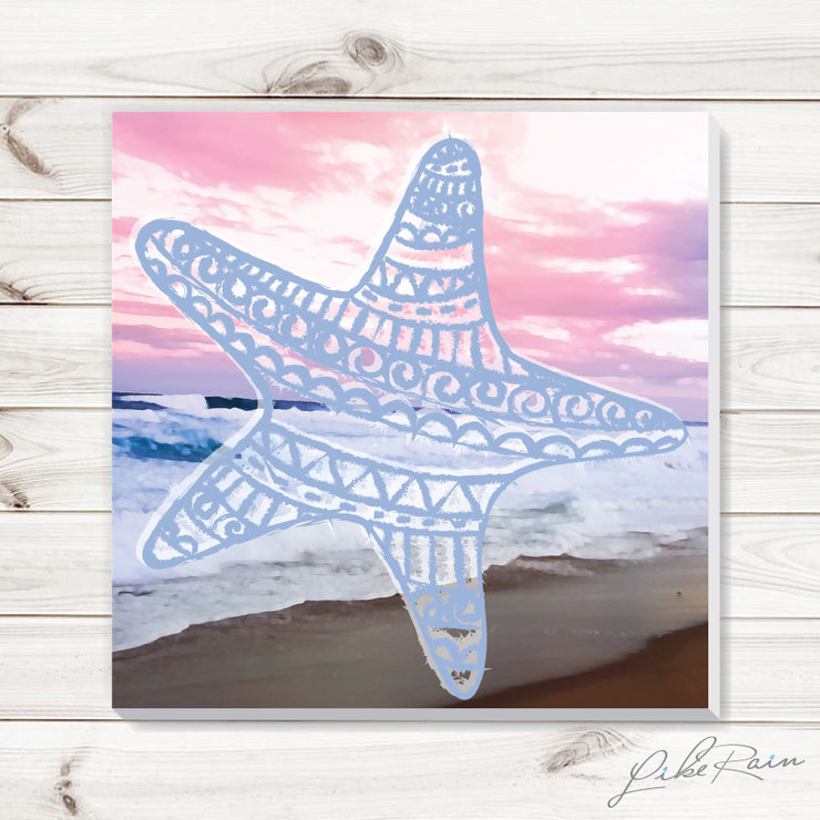 The Star of the Sea - Canvas Print by Like Rain Productions