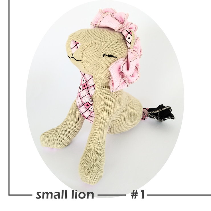 Lion Soft Toy - small by Playtime Soap & SASofties