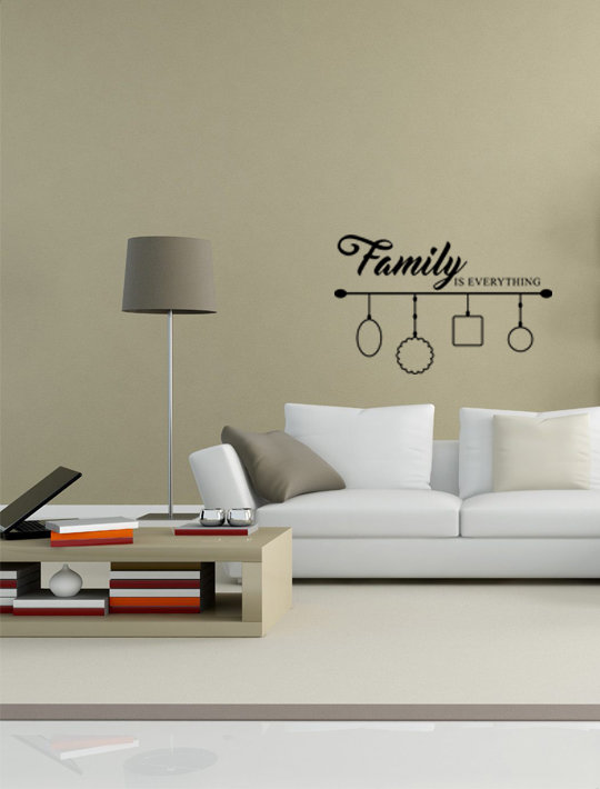 Family is everything  by That Little Decor Company