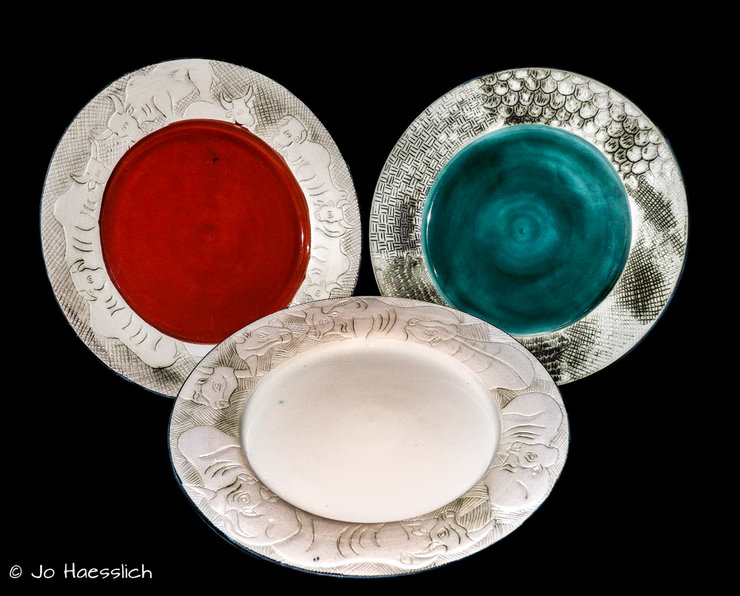 African Ceramics | Serving Platters by African Ceramics