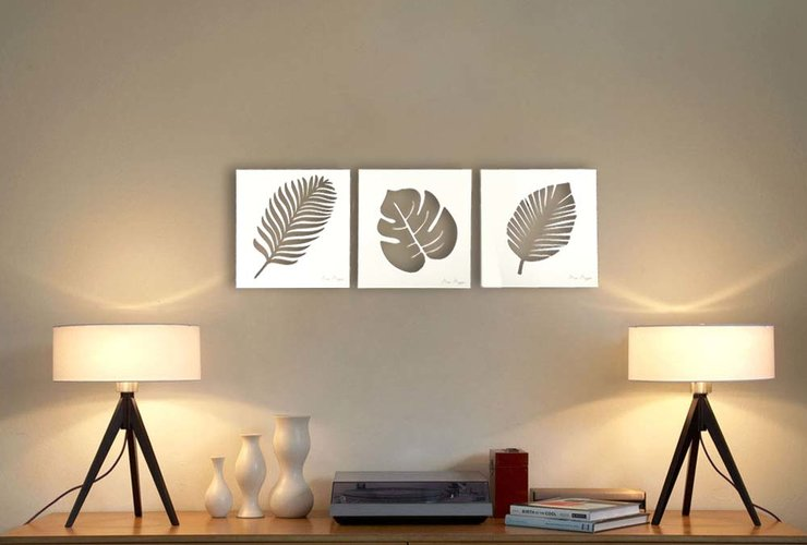 LEAF WALL ART (M0183)	 by Miss Magpie