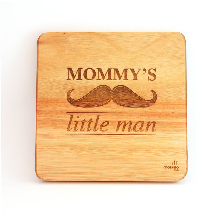 Wall Art - Mommy's Little Man by Moskito Kids