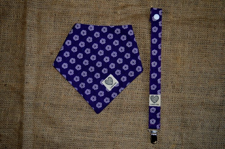 Purple Circle 2 in 1 Gift Pack by Liebe Kids
