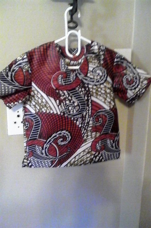 Kids African Print Shirts by Bona Baby