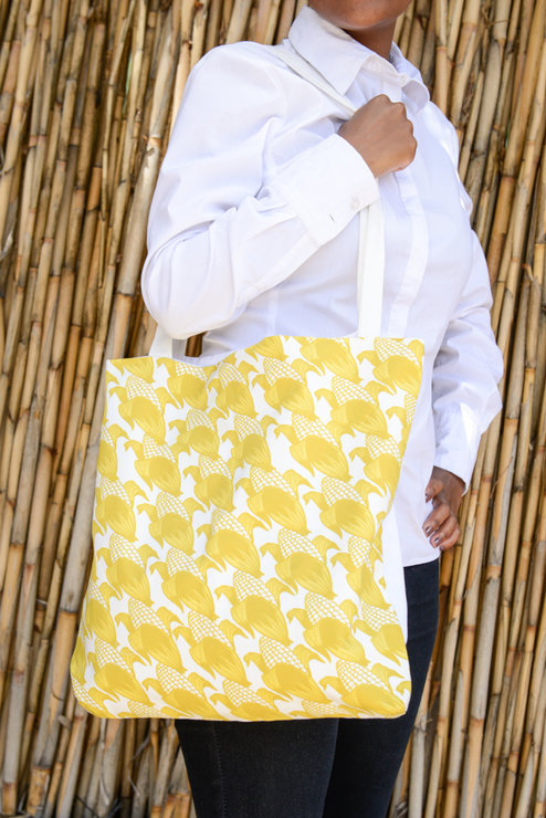 Maize Inspired tote Bag by Down South  Hand Made Co