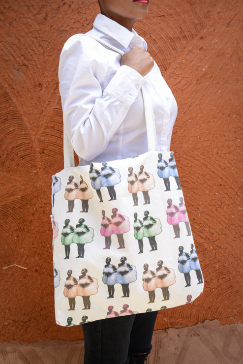 Litolobonya Tote Bag by Down South  Hand Made Co
