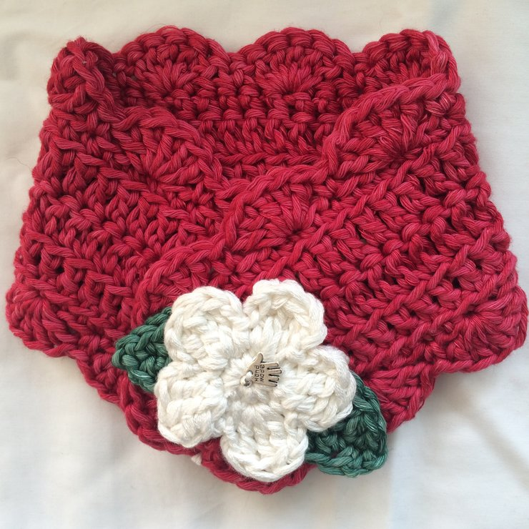 Crochet Miss Muffet Scarf In Cotton And Bamboo Kid Sizes Hello