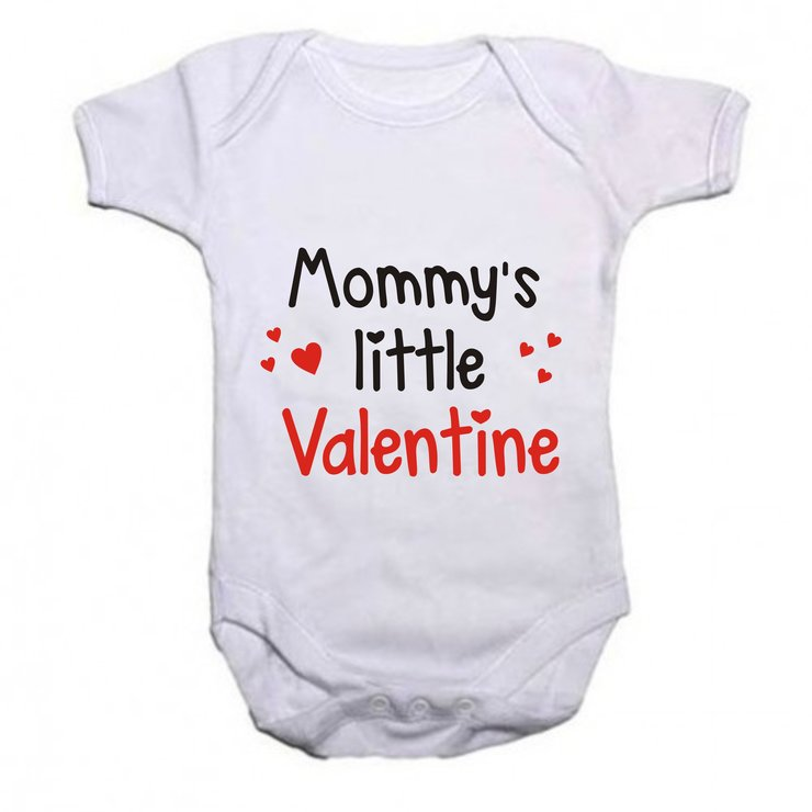 Mommy's little Valentine baby grow by Qtees Africa (Pty)Ltd
