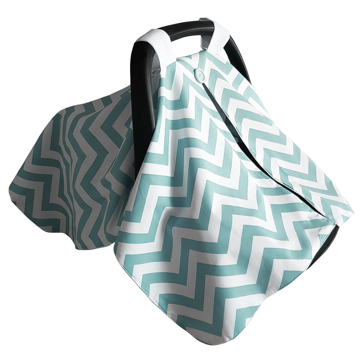 Car Chair / Pram Cover - Seafoam by Moo Cachoo