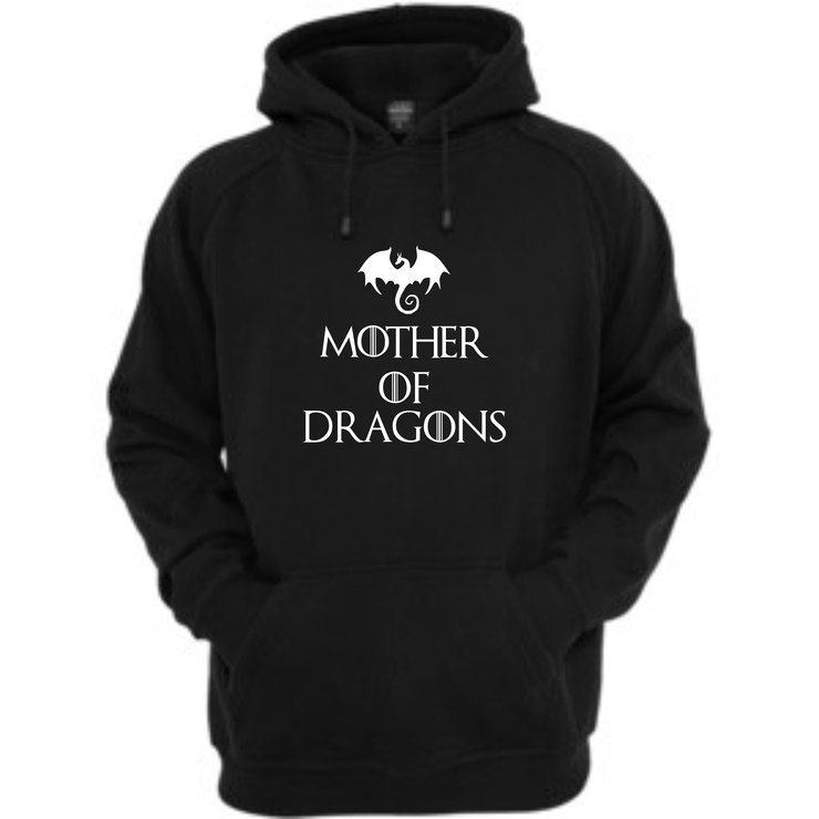 Mother of Dragons Hoodie by Qtees Africa (Pty)Ltd