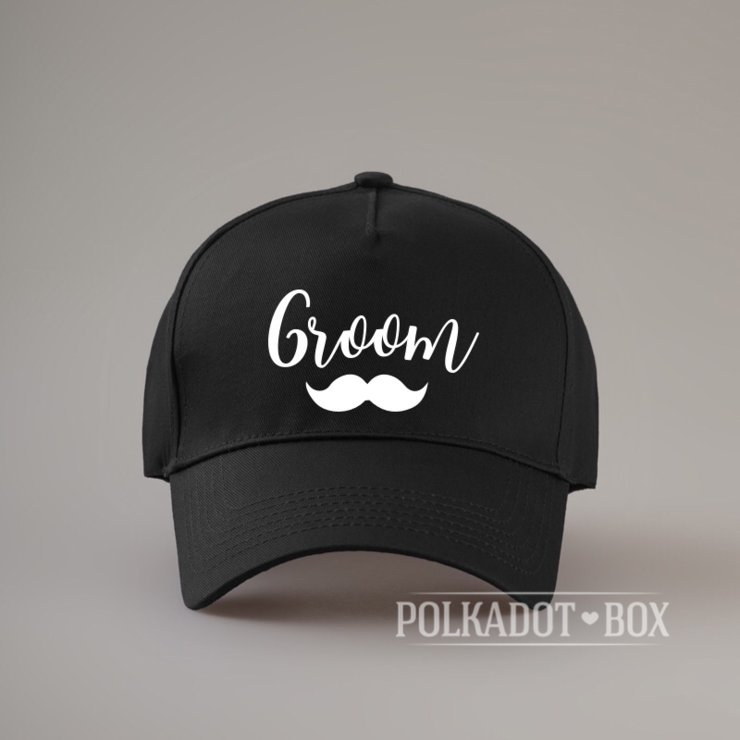 Groom  Peak Cap by Polkadot Box