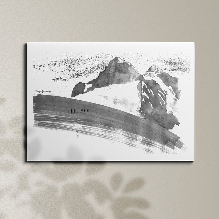 Mt Stanley - A3 by Art From Adventures