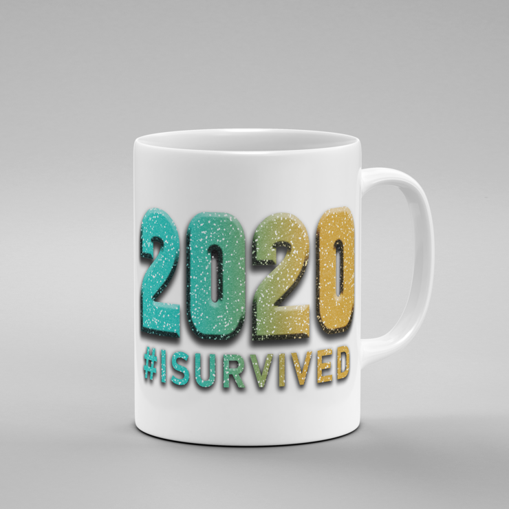 2020 #isurvived - Mug (Color Option 2)   by But Why Not