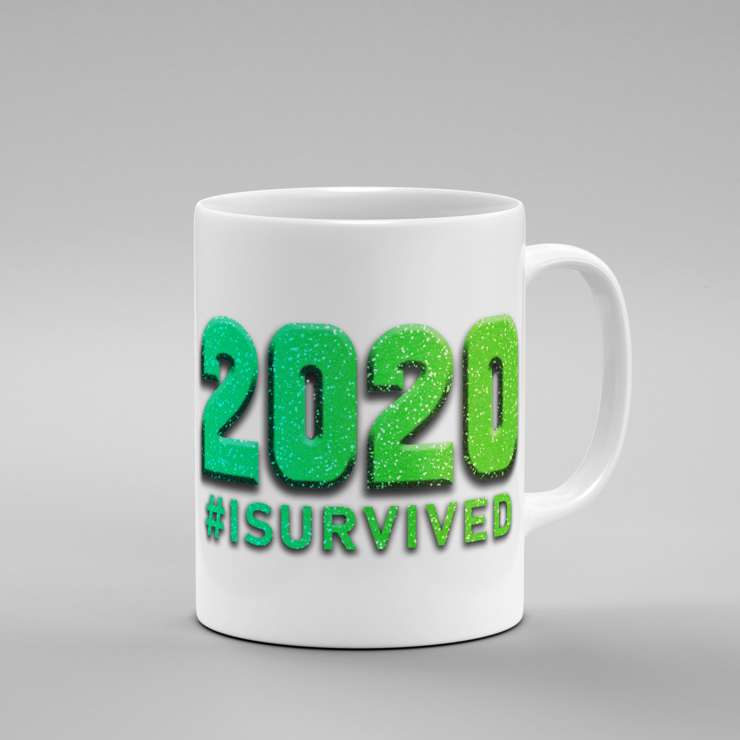 2020 #isurvived - Mug (Color Option 8)   by But Why Not