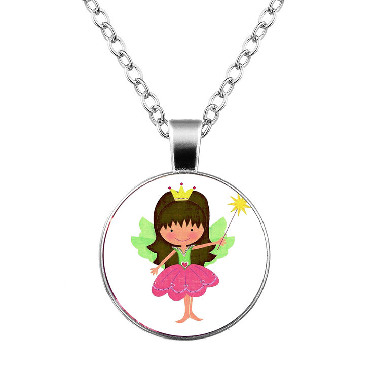 Kiddies Fairy necklace & pendant by Neirac