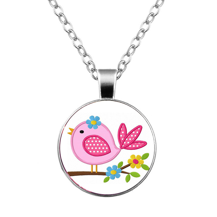 Kiddies Bird necklace & pendant by Neirac