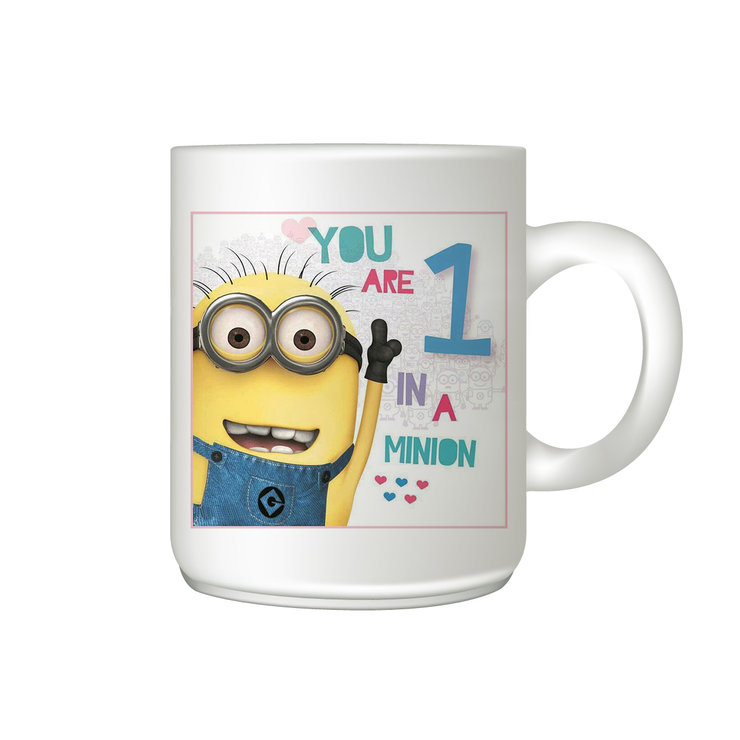 Coffee mug- Minion One in a minion by The Gift Factory