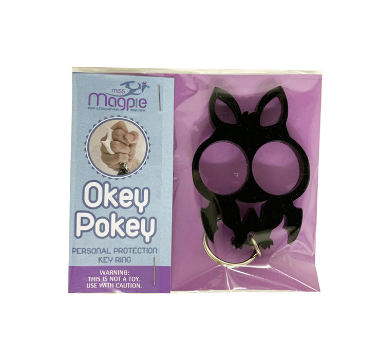 Okey Pokey Bat Keyrings by Miss Magpie