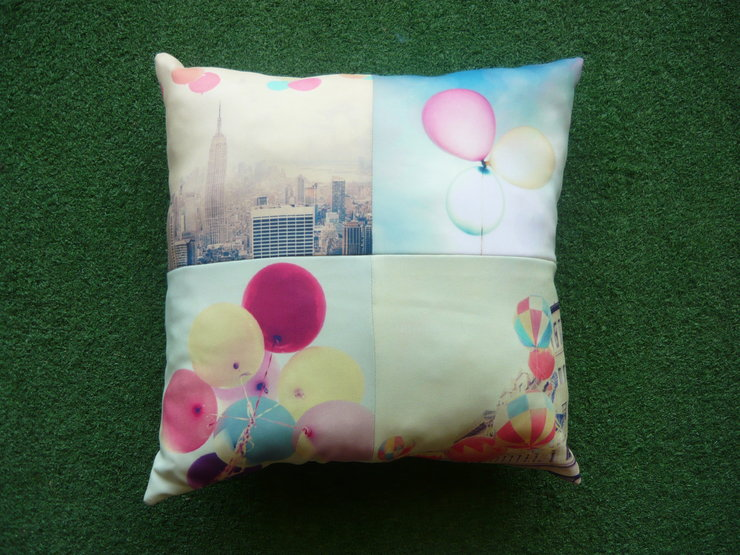 Balloons 40x40cm Pillow  by But Why Not