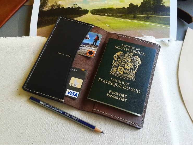 Passport Cover Wallet | Leather | SOLD