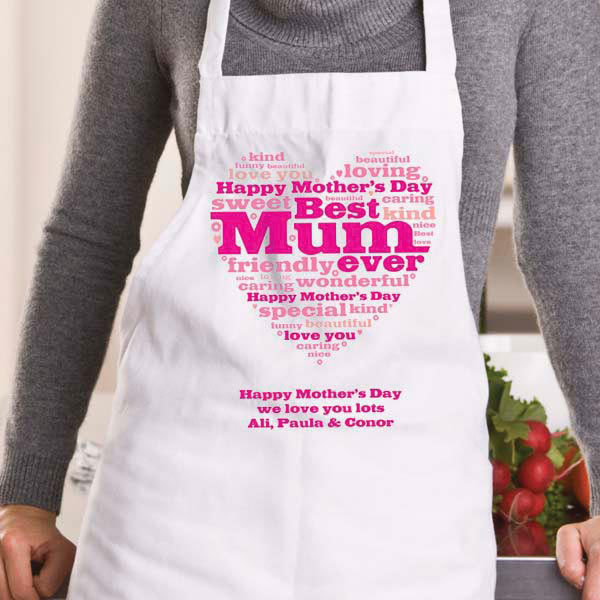 PERSONALISED BEAUTY THERAPIST BY DAY CHEF BY NIGHT APRON XMAS BIRTHDAY GIFT