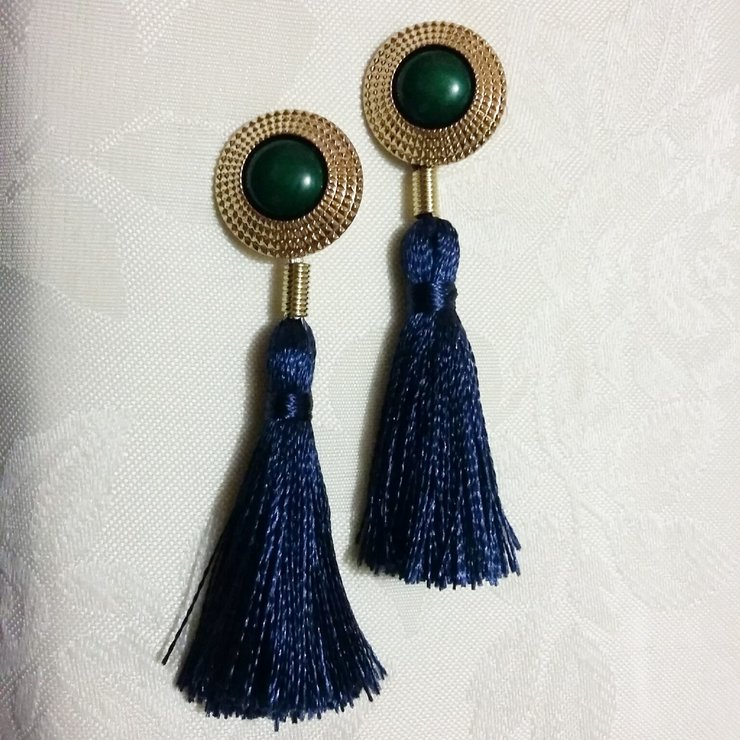Tussle Earrings By M I A Accessories