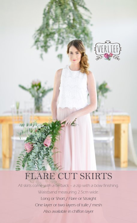 VICTORIA FLARE CUT SKIRT by VERLIEF PTY Ltd