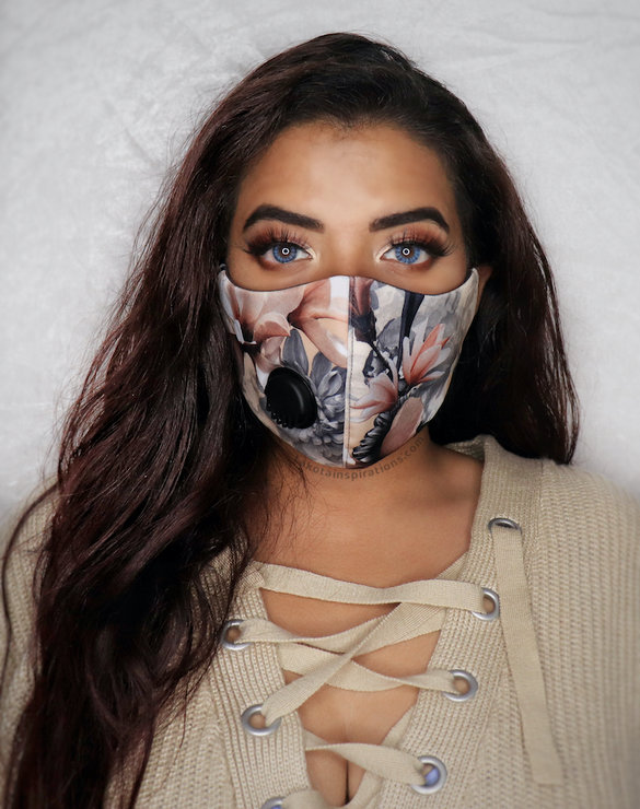 Re-usable Luxe Face Mask with Respirator Valve by Lakota Inspirations