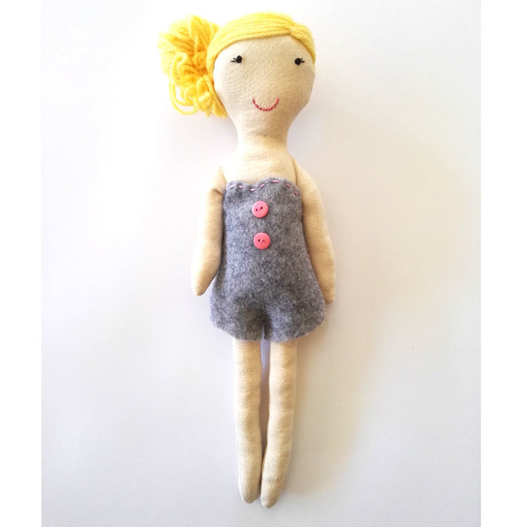 Pin up rag doll by Hello Bella Studio